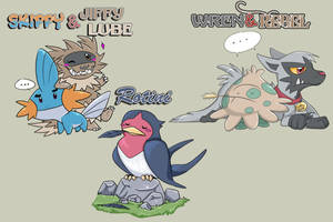Wedlocke Teams - Pokemon Ruby by Nestly