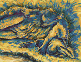 Wallaby - Abstract Color Practice by Nestly