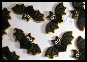 Bats Cookies by CakeUpStudio