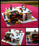 Cake Under Construction by CakeUpStudio