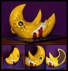 Bloody Moon - Soul Eater FanArt Cake by CakeUpStudio