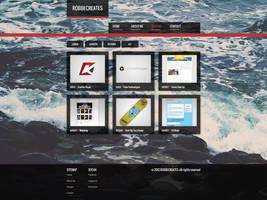 Portfolio website design by RLaloo