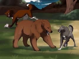 Bully Bear by FancyRatties
