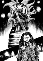 Thorin and Thranduil Page1 by shirgane777