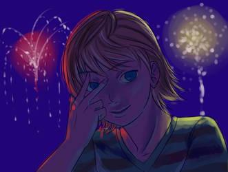 Firework Redux by shirgane777