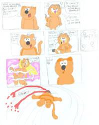 Garfield Vs. Heathcliff by SSJGarfield