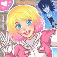 Gwenpool Selfie by manu-chann