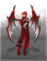 Commission: Ignius Draconem by manu-chann