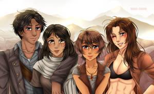 Commission: Family Portrait by manu-chann