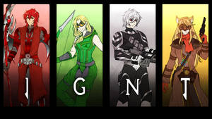 Patreon Free Sketch: Team IGNT by manu-chann