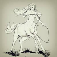 centaur by akaEvElin