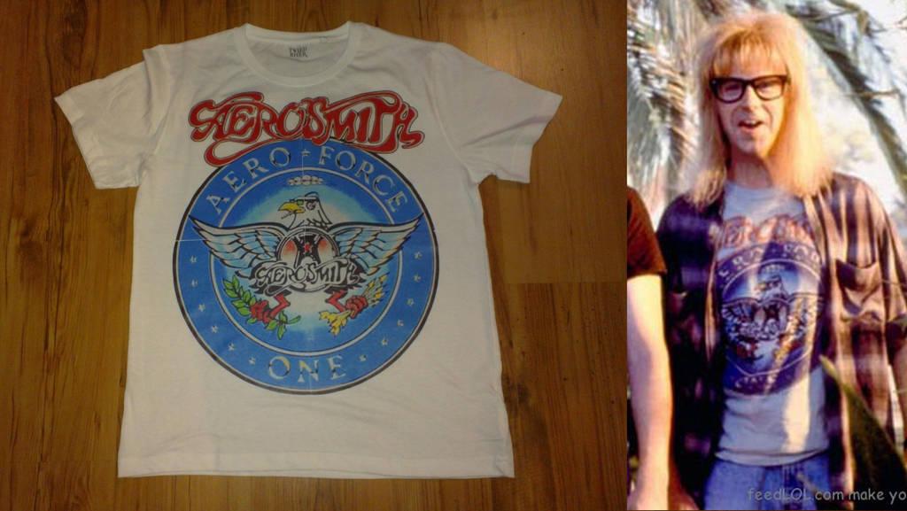 Aerosmith Aero Force One Tee-Shirt by gurihere