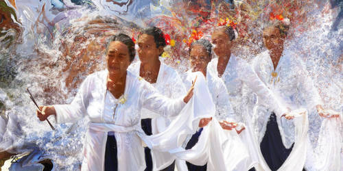 Danse au temple / Dance at temple (Bali) by Tepee