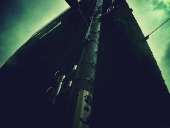 telegraph pole by Gloriosa2