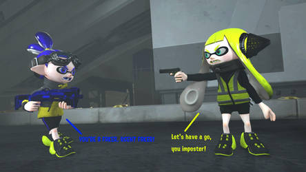 [Splatoon SFM] Agent 3 VS Agent 3 by TJStudioYT