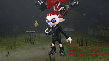 [Splatoon SFM] TJ The Rider by TJStudioYT
