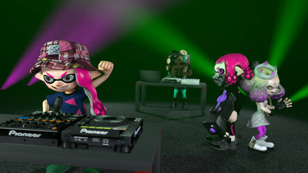 [Splatoon SFM] The 4-Girl Pop Group by TJStudioYT