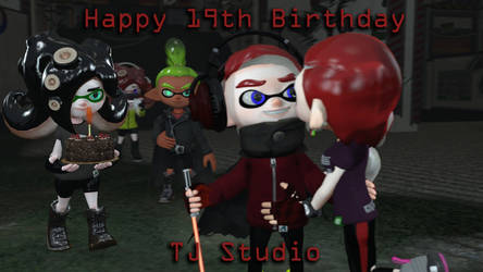 [Splatoon SFM] TJ's 19th Birthday by TJStudioYT