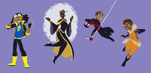 Black History Month: Heroes by ActionKiddy