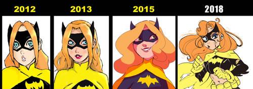 Batgirl Progress 3 by ActionKiddy