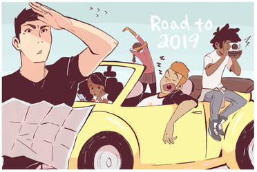Road to 2019 by ActionKiddy