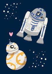 Star Robots by BakaBlueChi