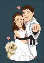 Wedding by BakaBlueChi
