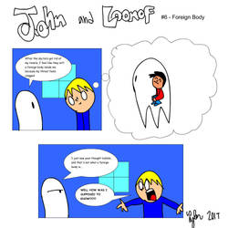 John and Loonof comic #6 - Foreign body by John-and-Loonof