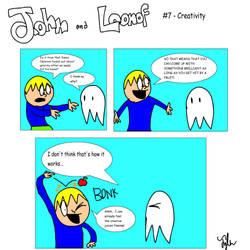 John and Loonof comic #7 - Creativity by John-and-Loonof