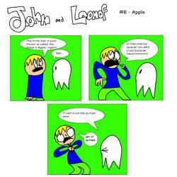 John and Loonof comic #8 - Apple by John-and-Loonof
