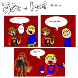 John and Loonof comic #9 - McCree by John-and-Loonof