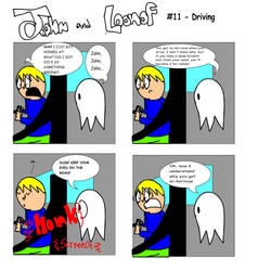 John and Loonof comic #11 - Driving by John-and-Loonof