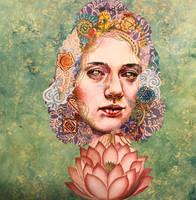 Chakra and Lotus by KanchanMahon