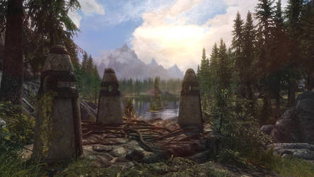 Standing Stones by MoggyMan