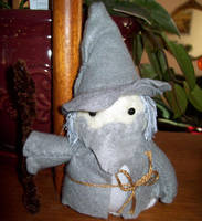 Plushie Gandalf by whithersoever