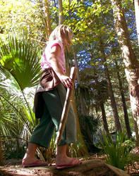 Walk The Log by brunettephotographer