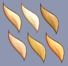 Blonde swatches by Lizalot