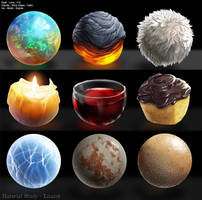 Material Studies by Lizalot