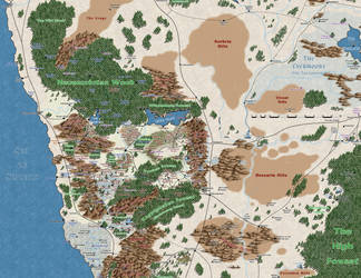 NentirVale in the ForgottenRealms by Markustay