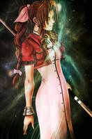 Aerith Gainsborough - final fantasy VII by MCAshe