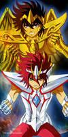 Saint Seiya / SS omega - Seiya - Koga Fan ArT by MCAshe
