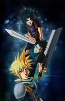 Final Fantasy VII generations - Zack Cloud Fan Art by MCAshe