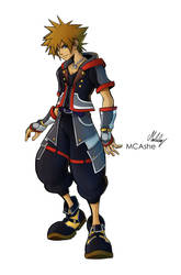 Sora KH3 original by MCAshe