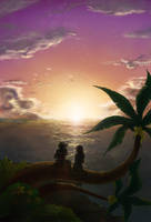 Destiny islands by MCAshe