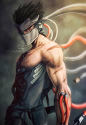 Genji Blackwatch Artwork by MCAshe