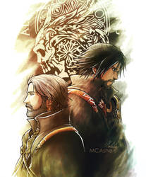King and Prince ( Final Fantasy XV artwork) by MCAshe