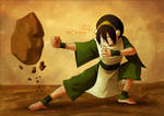 Toph Beifong Artwork by MCAshe