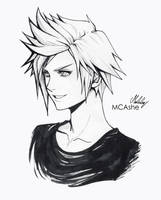 Prompto Argentum - Final Fantasy XV by MCAshe