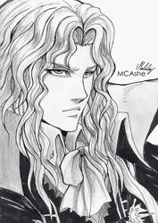 Alucard - Castlevania by MCAshe