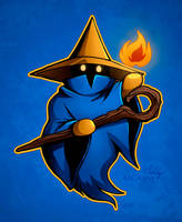 Little Black Mage by MCAshe